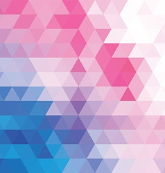 abstract geometric colorful background pattern vector image