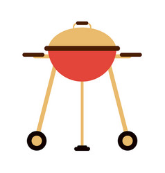 bbq grill isolated vector image