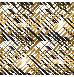 checkered dynamic seamless pattern vector image