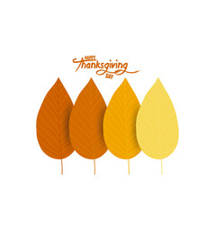 colorful autumn leaves can be used for flyers vector image