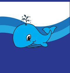 dolphin drawing icon vector image