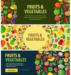 gardening logo design template food or vector image