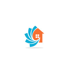 Home realty technology logo vector
