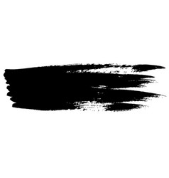 Ink brush stroke vector