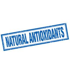 Natural antioxidants vector