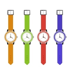 sports and fashion watches vector image