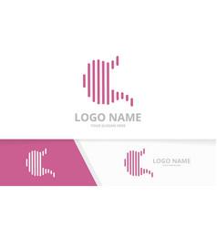 Stomach logo combination gastroenterology vector