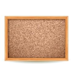 cork board vector image vector image