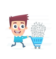 Articles shop vector image vector image