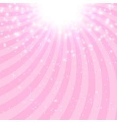 Abstract princess shiny star background vector