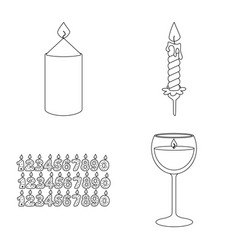 Design source and ceremony symbol set vector