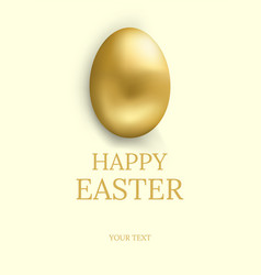 easter card happy easter greetings card vector image