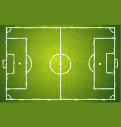football green field vector image