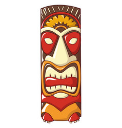 island idol icon cartoon style vector image