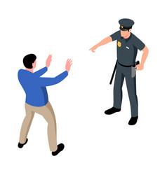 Isometric arrest vector