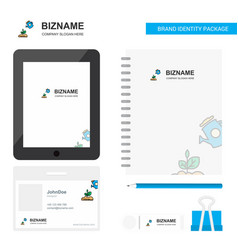 Plant shower business logo tab app diary pvc vector