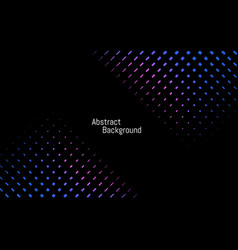 abstract dark stylish background blue and purple vector image vector image