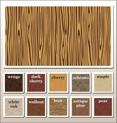 seamless wooden texture vector image vector image