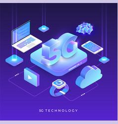 5g technology 36 vector