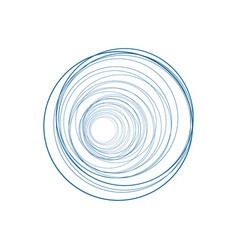 Abstract lines on white background vector