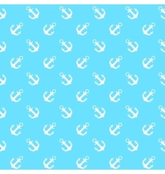 Anchor seamless pattern background vector