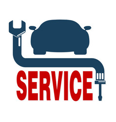 auto repair vector image