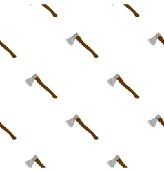 Axe icon cartoon Single weapon icon from the big vector image
