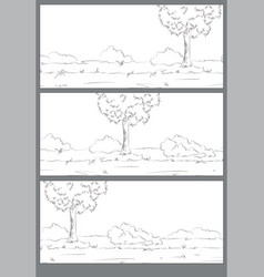 Comic strip sheet vector