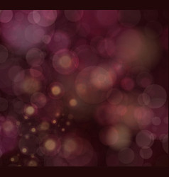 festive background with defocused lights vector image