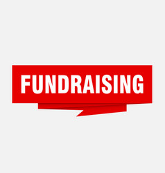Fundraising vector