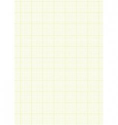 Graph paper a4 sheet green vector