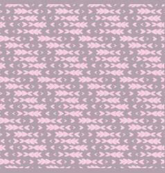 Minimalistic hearts pattern background vintage vector