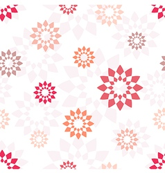 Seamless pattern with different geometric elements vector image