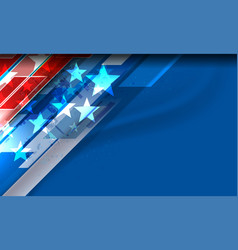 usa background design vector image
