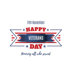 Veterans day abstract background vector