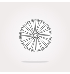 Wheel Icon Wheel Icon Object Wheel Icon vector image