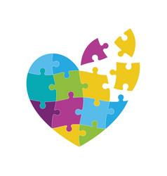 World hearth day design vector