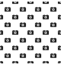 Camera pattern simple style vector image
