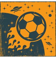 Space Ball vector image vector image