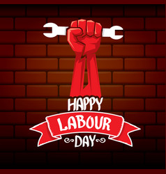 1 may - happy labour day happy labour day vector image
