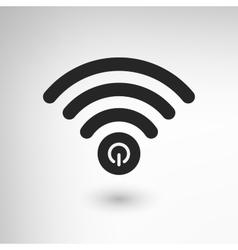 Creative WiFi Power vector image