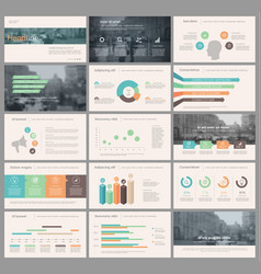 Elements for infographics and presentation vector