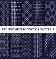Luxury patterns pack vector