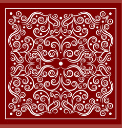red bandana image vector image