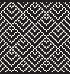 seamless pattern dotted geometric vector image