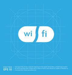wifi area icon vector image