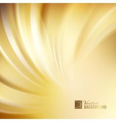 Orange abstract swirl vector image vector image