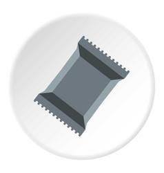 Napkins pack icon circle vector
