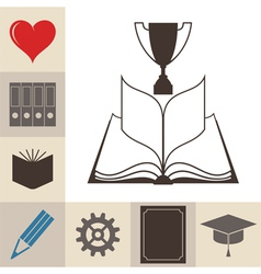 Book Education Knowledge vector image