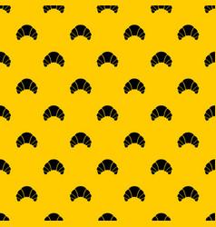 Croissant pattern vector